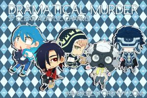 DMMD Acrylic Charms by outer--heaven