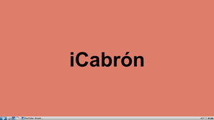 iCabron by Luisfb01