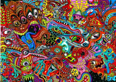 PSYCHEDELIC MESS by Acid-Flo