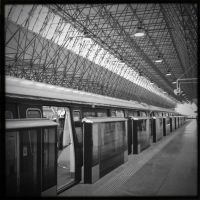 Railway Station by Eonity