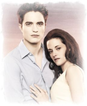 Edward and Bella Breaking Dawn by Just4MeAgain
