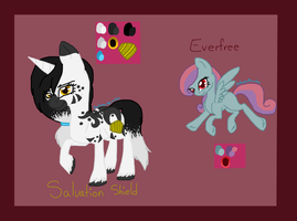 Sally and Eve Dual Reff by AutumnMiracles