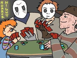 Horror Poker by eternallost