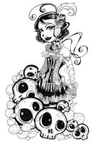 Skulls and Pearls by The-Kreep