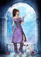 Delightfulness of Snowfall by RavenMoonDesigns