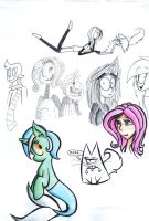 Random doodles 136 by AgentBlackBlood
