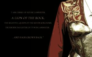 Lannisters: Cersei by GreenRaven28