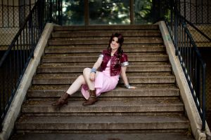 Aeris Gainsborough by ForeverAdel