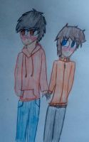 OTP challenge day 1: holding hands by xinsaneplayerx