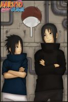 Uchiha Brothers by Lala-Chan-Walker