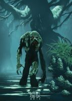 Swamp Thing by itemb