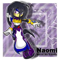 ::Naomi the Echidna:: by Chibi-Nuffie