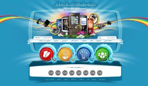 web site jashnvareh mobile by farandesing