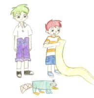 ::Phineas + Ferb:: by DetectiveToony