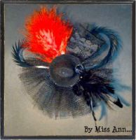 Moulin Rouge hair accessory by CtrlMissAnn