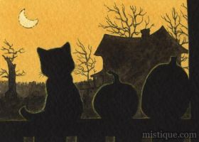 All Hallows' Eve by MistiqueStudio