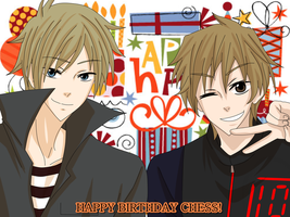 Happy Birthday Chess! by Aleude
