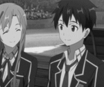 Asuna Kirito School Gif by codzocker00