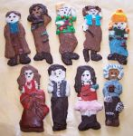 Firefly Gingerbread Cookies2 by sangofairy
