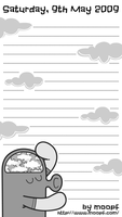 Diary Page by moopf