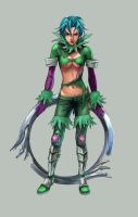 Tira from Soul Calibur III by Sami-B