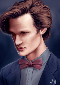 The eleventh Doctor by Witchii-chan