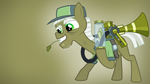 MLP Wallpaper Pest control pony by CubaSandwichPL