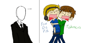 PewDiePie and Tobuscus by Sohrem