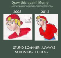 Draw this again meme by Magma-Whip