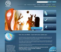 Web Shop SportBalance Germany by MrBost