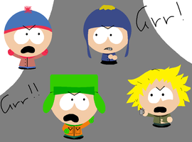 South park, Grr by ScrewStudying