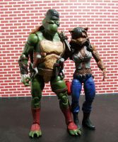 Raphael and Mezcaal by Jarred706