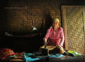 Old Woman by randyrakhmadany
