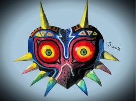 Majora's Mask by musicheadx