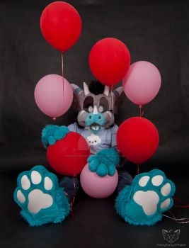 A Balloon type of Dragon by FurryFursuitMaker