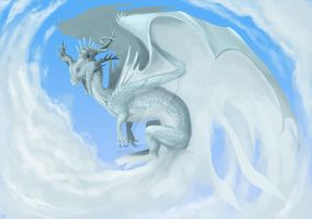Cloud Dragon by theCoffeeDragon