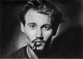 Johnny Depp by OlympicSmiler