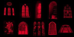Gothic Stained Glass by midnightstouch