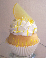 Faux Lemon Chiffon Cupcake by TheCopperDragon2004