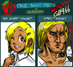 Meme: One shot DISASTER by G0966