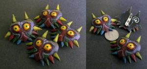 The Legend of Zelda: Majora's Mask Pin by Riskyo