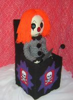 Clown Jack in The Box Rag Doll by Zosomoto