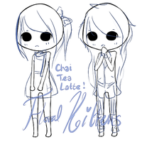 { P2U Base : Chai Tea Latte } by FloralKittens