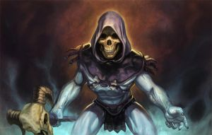 Skeletor MotU by NathanRosario