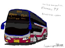 Express 99 Bus by ngarage