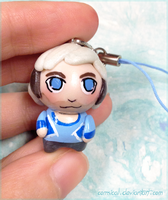 Quicksilver Clay Charm by Comsical
