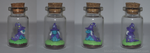 Trixie in a bottle by Blindfaith-boo