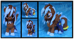 Frost Burst Custom Plush by Nazegoreng