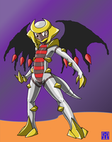 Living Suit of Giratina 2 by sinrin8210