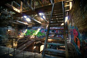 1300, Box Hill brickworks. by thespook